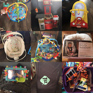 Large amount of baby and kids items for sale