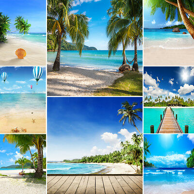 10x10Ft Summer Sea Beach Studio Photography Background Backdrop Props - Beach Backdrop