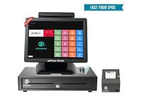 All in one POS ePos for takeaways, restaurants