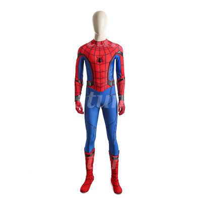 Peter Benjamin Parker Jumpsuit Cosplay Costume Halloween  (Peter Parker Halloween)