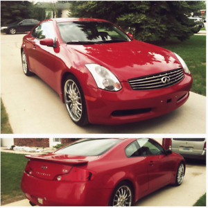 2005 Infiniti G35 6MT - Upgrades & More - Need to Sell ASAP