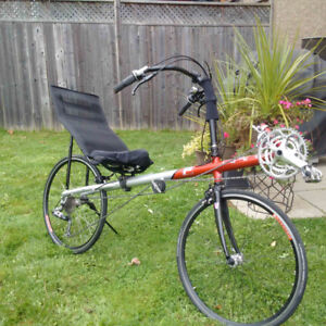 Rans F 5 Recumbent Bike