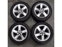 16' Genuine VW Golf 5 Spoke Alloy Wheels