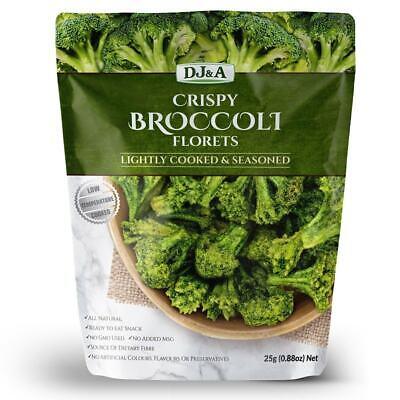 DJ&A Crispy Broccoli Florets 25g