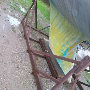 HEAVY DUTY STEEL SAILBOAT CRADLE 25-35'