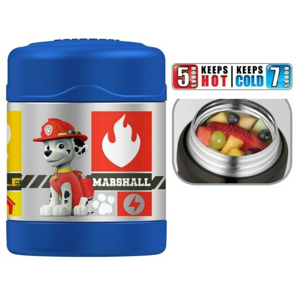 BN: Thermos Funtainer 10 Ounce Food Jar, Paw Patrol