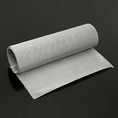 9030cm Roll 100m Mesh Stainless Steel Woven Cloth Wire Screen Filter Sheet