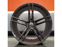 """20"""" Veemann V-FS33 Alloy Wheel and Tyre Package 5x120 BMW 3 Series and 4 Series"""