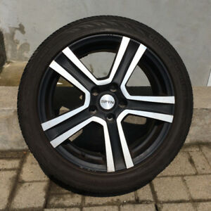 Spyn Rims, 4 Mags with tires - 4 Jantes avec pneus