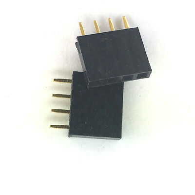 20x 4 Pin Female Tall Stackable Header Connector Sockets For Arduino Shield Aa