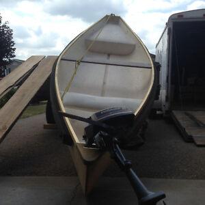 11 ft Canoe and 2HP motor
