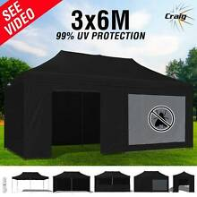 Craig 3x6m Outdoor Gazebo Folding Marquee Tent Canopy Pop Up Perth Northern Midlands Preview