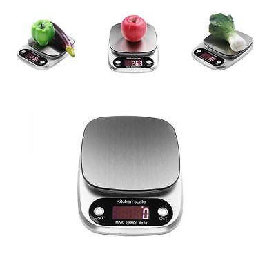 10KG/1g LCD Digitale Küchenwaage Haushaltswaage Tischwaage Electronische Waage
