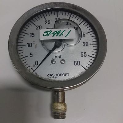 Ashcroft Duralife 0-60psi Pressure Gauge