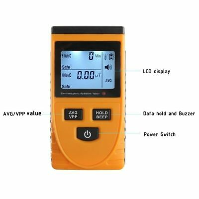 Gm3120 Digital Electromagnetic Radiation Detector Emf Meter Dosimeter Tester Us