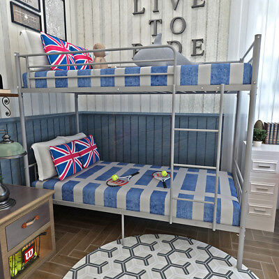 3c817d018193 3FT Single Metal Bunk Bed Frame 2 Person for Adult Children Kids Home  Furniture