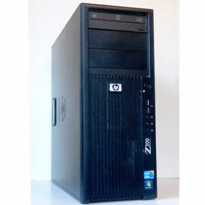 HP Z200 Workstation Desktop PC i3 3.07GHz DVDRW 6GB RAM 500GB