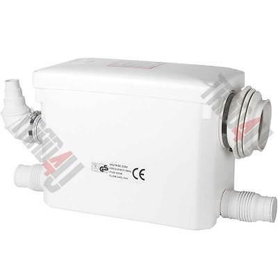 NEW! Sanitary macerator pump for HANG TOILET waste pump. (hide macerator pump!)