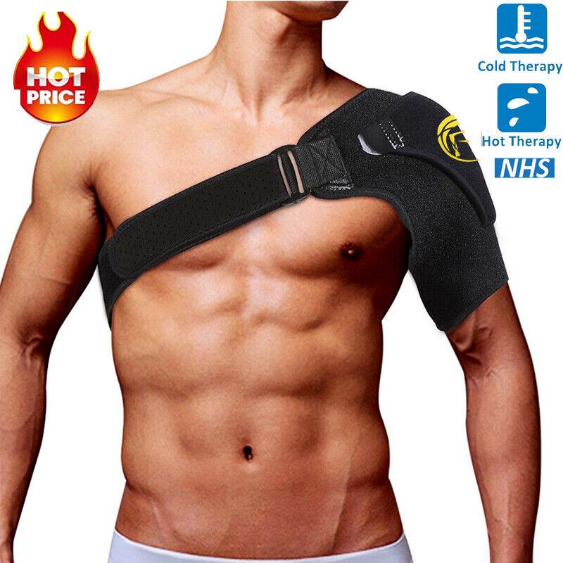 adjustable shoulder support brace strap joint sport