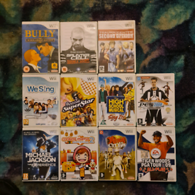 Nintendo wii games £5 each or swaps