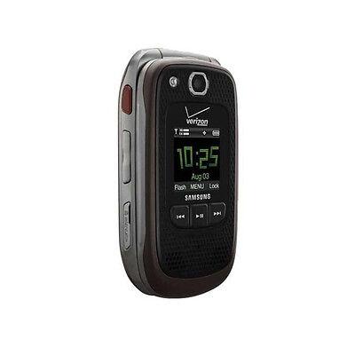 New Samsung Convoy 2 SCH-U660 Coffee Brown Verizon Rugged Cellular Flip Phone