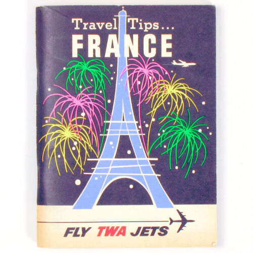 TWA Travel Tips FRANCE Booklet 1963