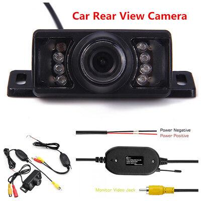 12V 2.4G Wireless Car SUV Reverse Rear View Backup Camera Parking Kit Waterproof