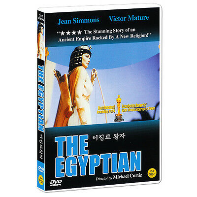 The Egyptian (1954) *New Sealed DVD - Jean Simmons, Victor Mature / Region ALL