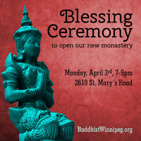 Blessing Ceremony to Open Our New Monastery