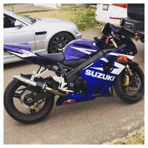Nice 2004 Suzuki GSX-R 600 for sale
