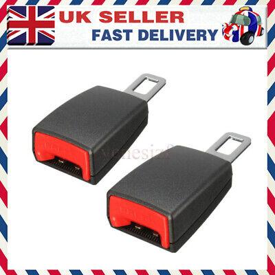 2PCS Universal Car Safety Seat Belt Extender Extension Buckle Lock Clip Durable