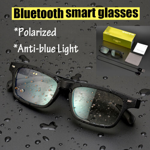 Bluetooth Polarized/Anti-blue Light Smart Bluetooth Glasses Sunglasses Eyeglass
