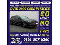 Audi A6 Avant 2.0TDI ultra (190ps) (s/s) Avant 2015MY Black Edition from £89 PW