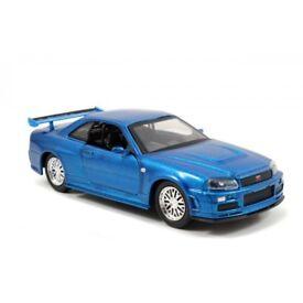 1:32 Nissan Skyline R34 GT-R by Jada Fast & Furious