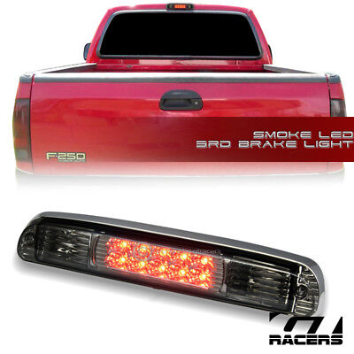 - For 1999-2016 F250/F350 Superduty Smoke Led 3Rd Third Brake Light Tail Lamp Aw