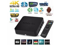 MXQ 4K ULTRA HD ANDROID TV BOX WITH KODI FULLY LOADED