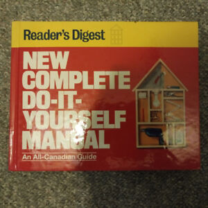 New Complete Do it yourself Manual - Readers Digest