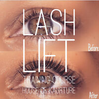 Lash Lift Training Courses