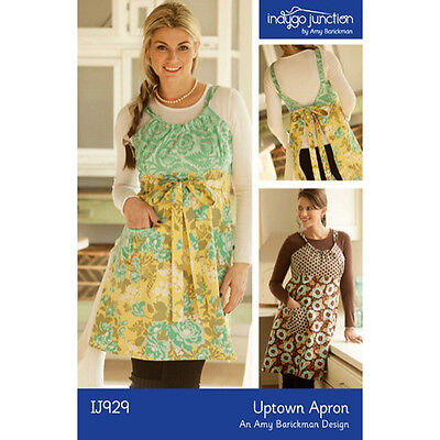 """INDYGO JUNCTION """"UPTOWN APRON IJ919"""" Sewing Pattern"""