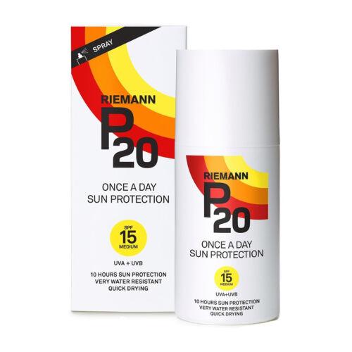 Riemann P20 Sonnenschutz Spray SPF 15 Wasserdicht Once a day 10 Stunden 200ml