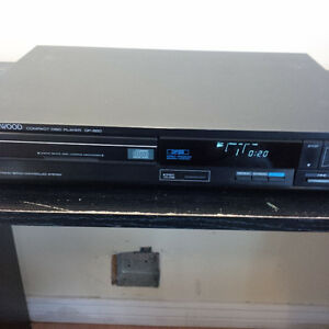 KENWOOD cd player and tuner.
