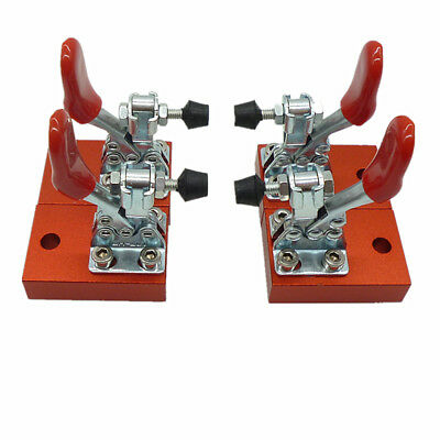 Cnc Router Fixture Quick Clamp Plate Engraving Machine Fastening Platen 4pcs Set