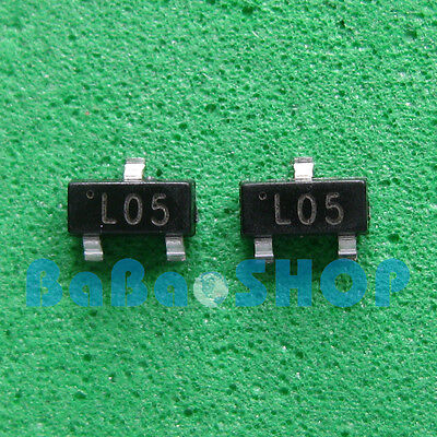 20pcs New L05 78l05 L78l05 7805 Positive-voltage Regulators 5v 100ma Sot-23 Smd