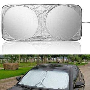 Car Front Window Sun Shade Visor Folding Auto Windshield Block Cover Protector