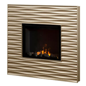 Retail US$1,120+ Dimplex Fireplace Champagne Wall Mount