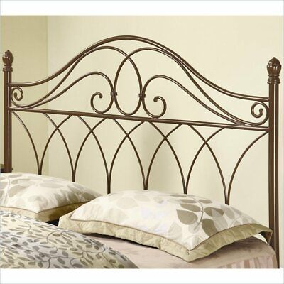full and queen spindle headboard in brown