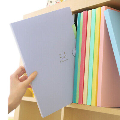 Candy-color Document Bag File Office Multifunctional Cute Stationery Bill Folder