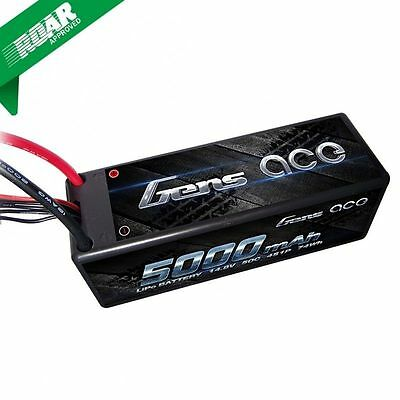 Gens Ace 4S 5000mAh 14.8V 50C/100C Lipo Battery For 1/8 venom RC8 losi hpi buggy