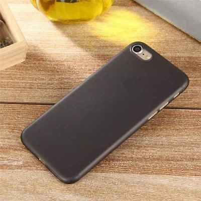 iPhone 8 Slim Case. Feather Light Hard Plastic Protective Cover. Black Feather Slim Case