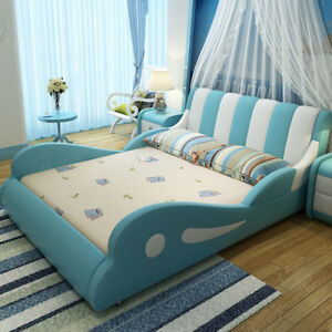 Children's bed and two bedside and mattress and mattress's cover